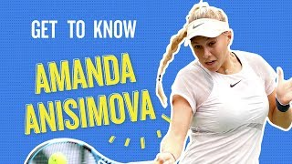 Get To Know Amanda Anisimova