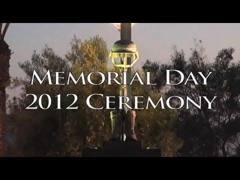 Moreno Valley Memorial Day Ceremony 2012