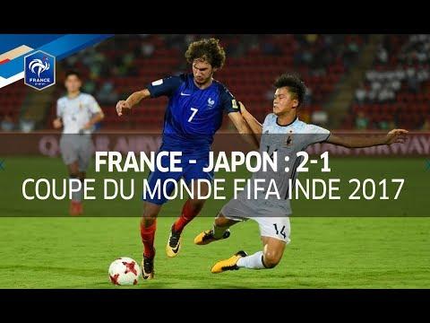 U17, Coupe du Monde Inde 2017 : France - Japon (2-1), le résumé I FFF