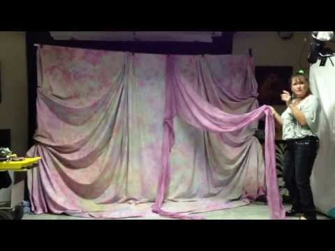 Backdrop Draping Lesson - Part 1
