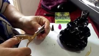 How To Make Backflow Incense Burner Cones (1) - Homemade