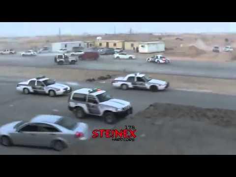 police chase in saudi arbia