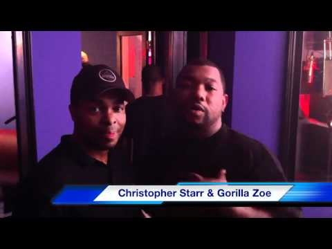 Christopher Starr & Gorilla Zoe at CSP Music Group - Atlanta