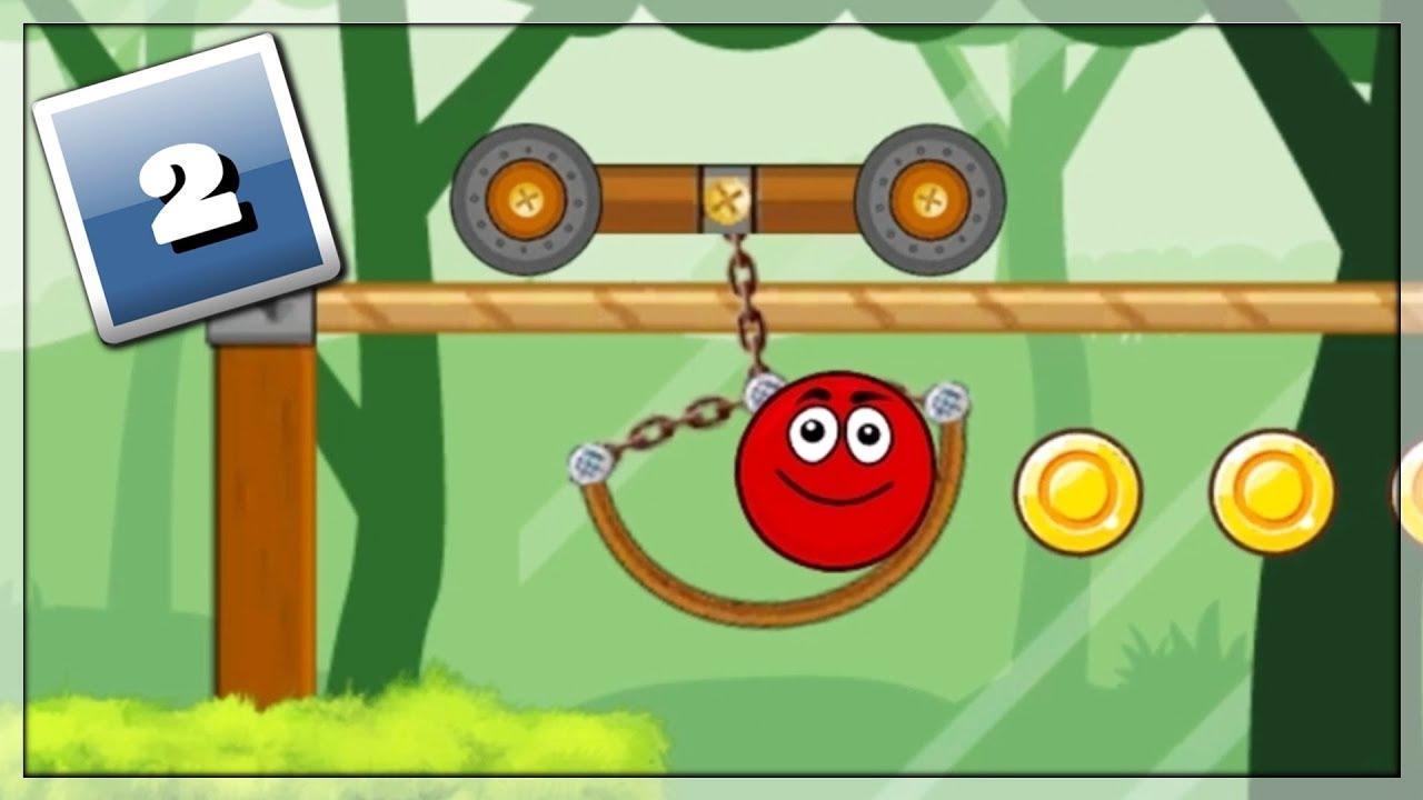 Download Czerwona Piłka Rządzi! Gry Online: Ball Hero Adventure: Red Bounce Ball #2