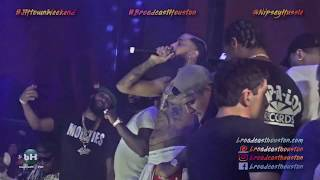 One Of NIPSEY HUSSLE Last Concerts in Houston @ SPIRE During JAMES HARDEN Weekend!