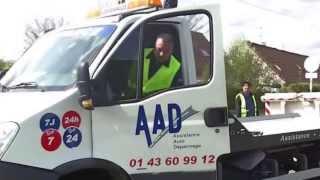 Depannage / Remorquage Auto Moto Paris et IDF - Assistance Auto Dépannage - AAD