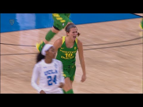 Recap: No. 9 Oregon women\'s basketball beats No. 14 UCLA to remain perfect in conference play