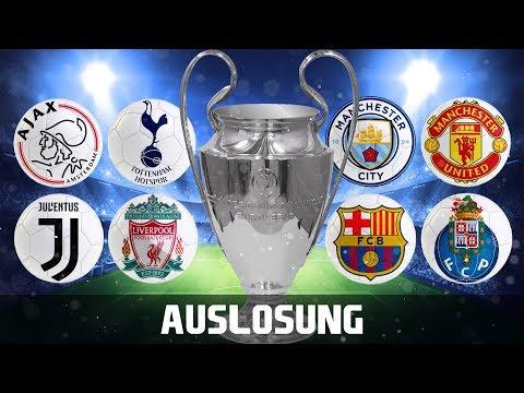 FANTALK ⚽️ AUSLOSUNG Champions League ⚽️ Viertelfinale #1
