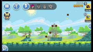 Angry Birds Friends Tournament ● LEVEL 3 ● 190 K HD ● Week 201 ●  POWER UP