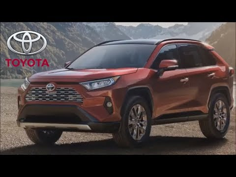 2019 Toyota RAV4 - the INTERIOR of the popular SUV