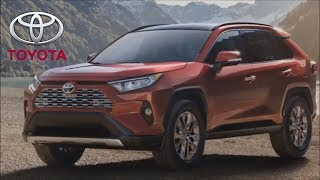 2019 Toyota RAV4 - the INTERIOR of the popular SUV