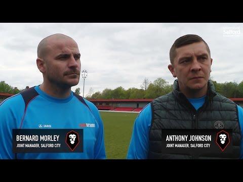 Salford City 5-1 Darlington - Jonno & Bern post-match interview