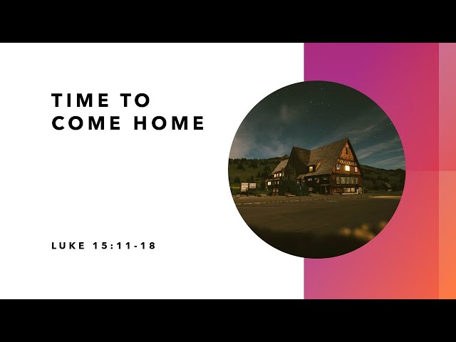 Time to Come Home + Ecclesiastes · 201101 · Pastor Jerome Pittman + Ross Kilfoyle
