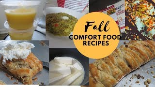 My Peaceful Not So Lazy Productive Sunday| Cooking Baking Comfort Food Recipes Fall