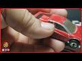 #MatchboxRestoration Matchbox Restoration: 1986 Ferrari Testarossa