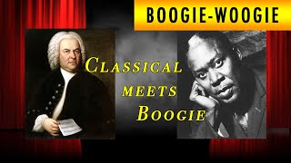 Classical meets Boogie-woogie piano - Ben Toury