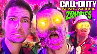 INFINITE WARFARE ZOMBIES IN REAL LIFE! ARCADE TOUR IN ZOMBIES IN SPACELAND!