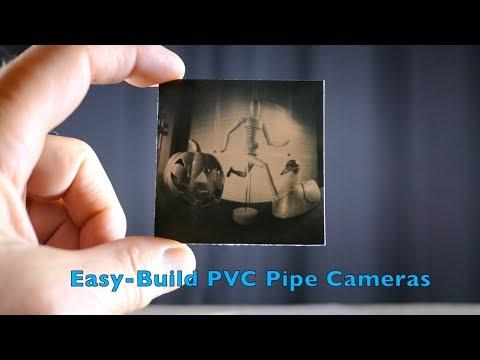 Easy-Build PVC Pipe Cameras