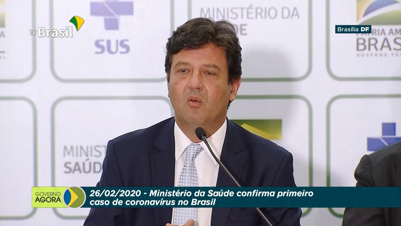 Saúde confirma primeiro caso de coronavírus no Brasil