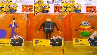 Best Learning Video For Children - Opening Despicable Me 3 Minions Gru Toy Playset