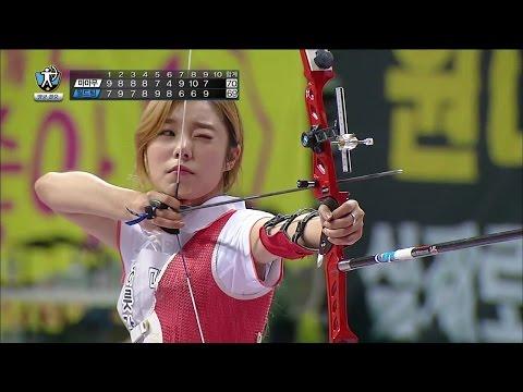 【tvpp】-whee-in(mamamoo)---w-archery-final,-휘인(마마무)---여자-양궁-결승-@-2015-idol-star-championships