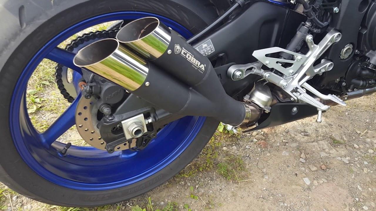 speedpro cobra hypershots ultrashort slip on road legal eec abe homologated yamaha mt 10