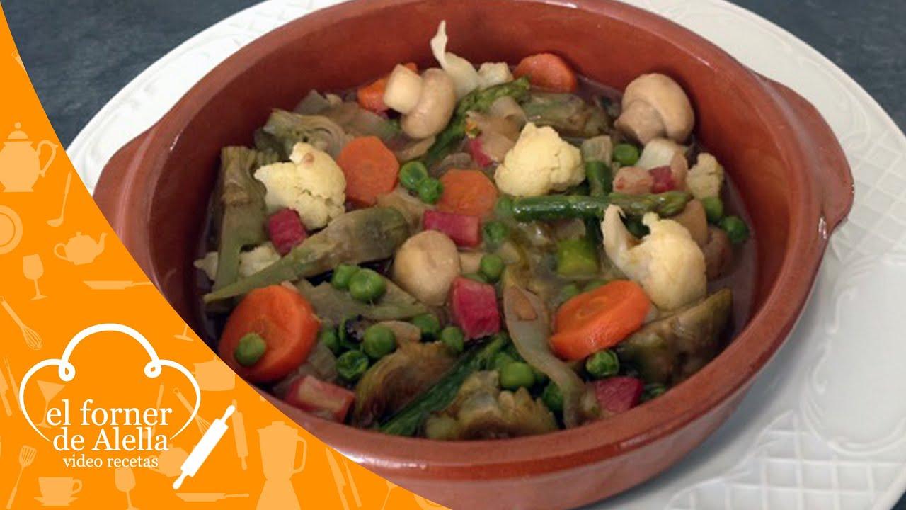 Menestra de verduras youtube - Menestra de verduras en texturas ...