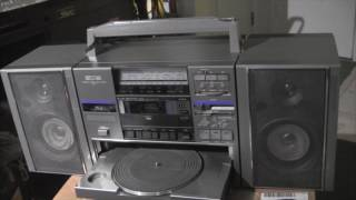 JVC Turntable Boom Box JVC DC-…