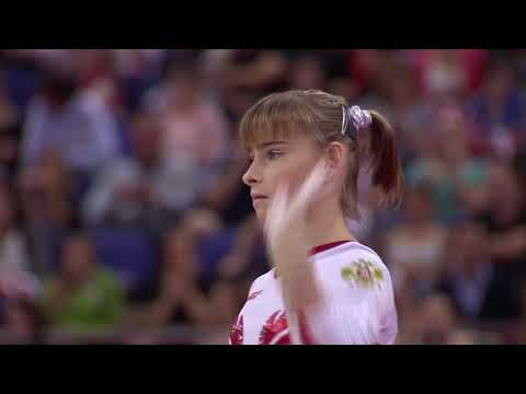 Russia Team Finals Floor Exerscise FX @ 2012 London Olympic Games