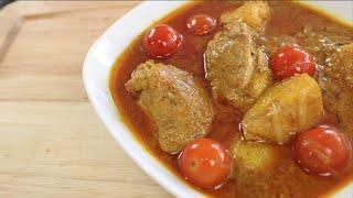 Yellow Curry W/ Chicken - Hot Thai Kitchen!