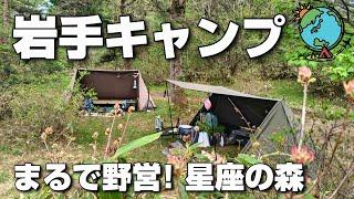 歓喜!こんなフリーサイト見たことない!野営感を楽しめるワイルドキャンプ