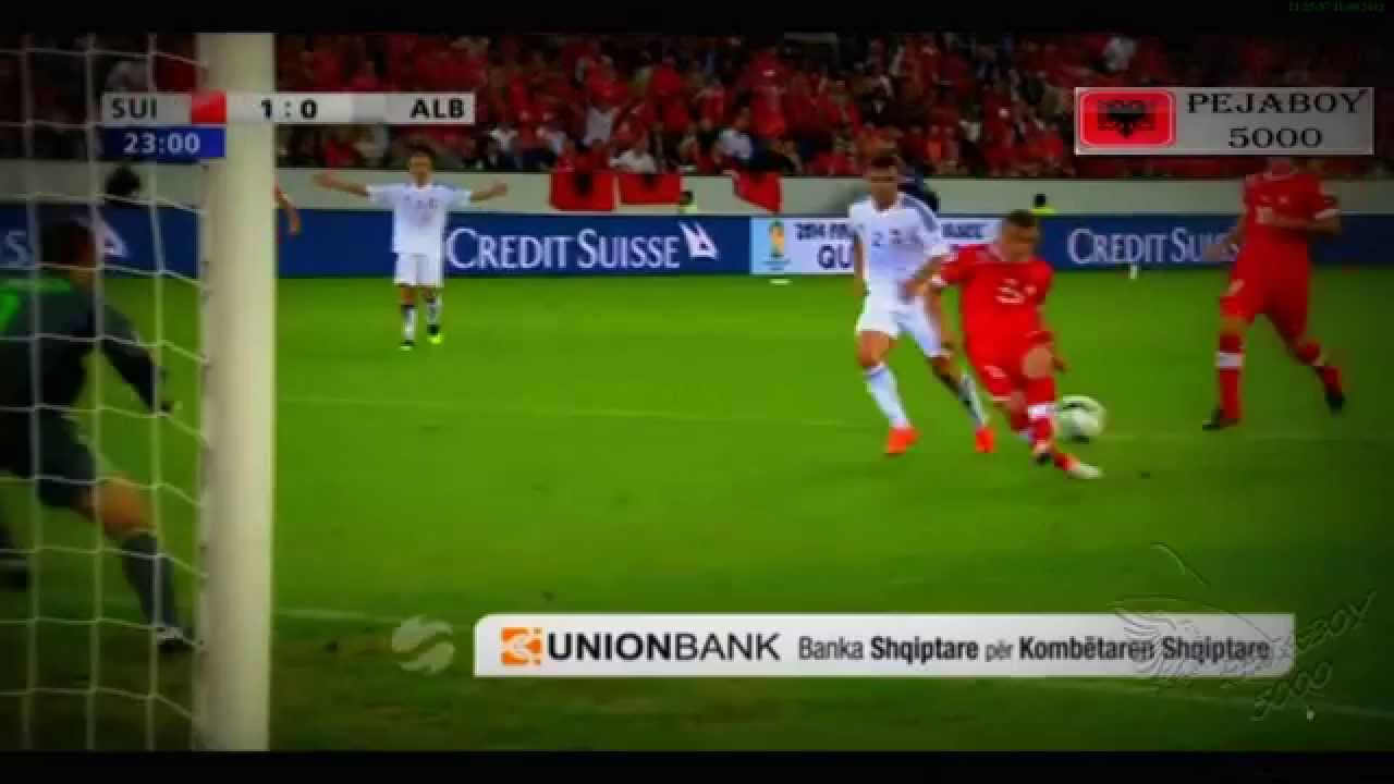 Switzerland Vs Albania 2 0 11 09 12 Full Highlights