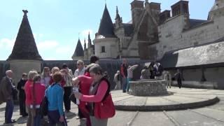 Франция. Замок Амбуаз / France. Amboise Castle / France. Château d'Amboise(Туртрансвояж, май 2014., 2015-03-08T18:20:52.000Z)
