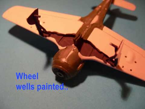 MATCHBOX 1/72 Focke Wulf A-4 / R6 - A Build In Pictures (3 / 2015)