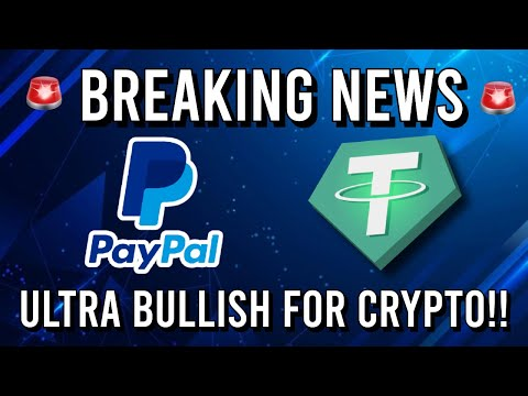 🚨 BREAKING NEWS!! PAY IN CRYPTO WITH PAYPAL & USDT 100% BACKED!! 🚨