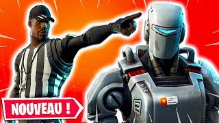 NEW SKIN THE TRAQUE ON FORTNITE ... (NEW VEHICLE AND SKINS PROCHAINS)