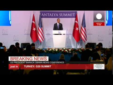 """ISIL is the face of evil"" Obama speaks at G20 summit, Turkey - LIVE"