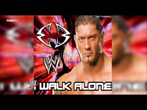 WWE: I Walk Alone Batista Theme Song + AE Arena Effect