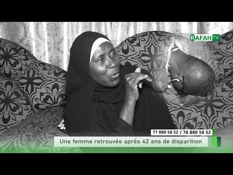 Urgent Touba une femme retrouvée Après 42 ans disparition