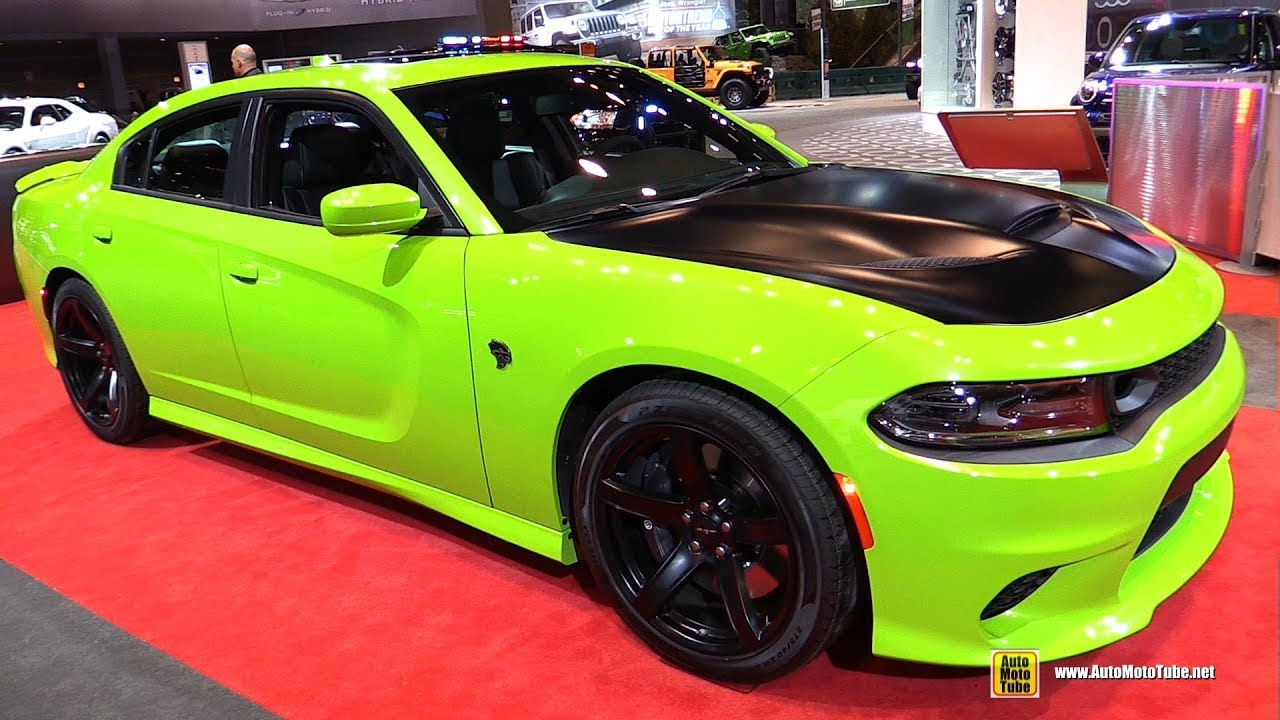 2019 dodge charger srt hellcat sublime green edition