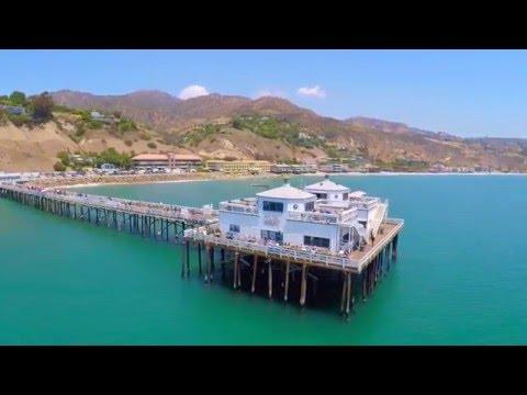 MALIBU BEACH DRONE RUN