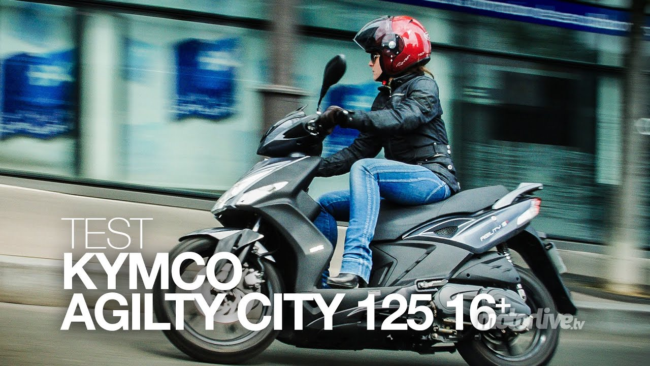test | kymco agility city 125, la nouvelle vague ! - youtube