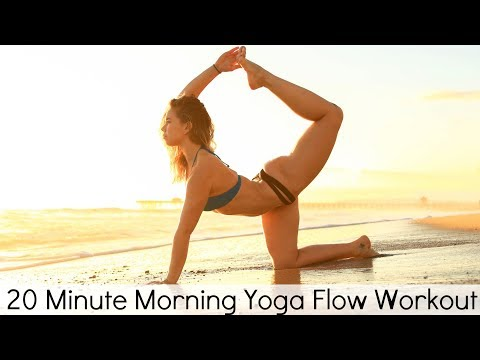 20 Minute Morning Yoga Flow Workout | Yoga With Tim - YouTube