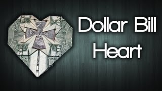 How to Make a Heart Out of a Dollar Bill
