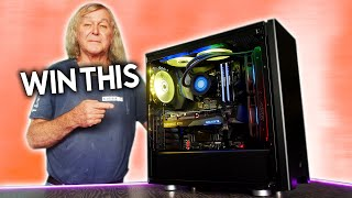 We Build My 70 Year old Dad YOUR First RTX 3070 Gaming PC 💻  (Powered by Gigabyte, Intel and PLE)
