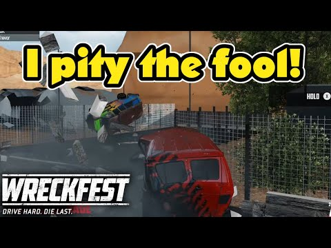 I Pity The Fool That Gets Cornerbombed! Wreckfest Ep119 Online Multiplayer