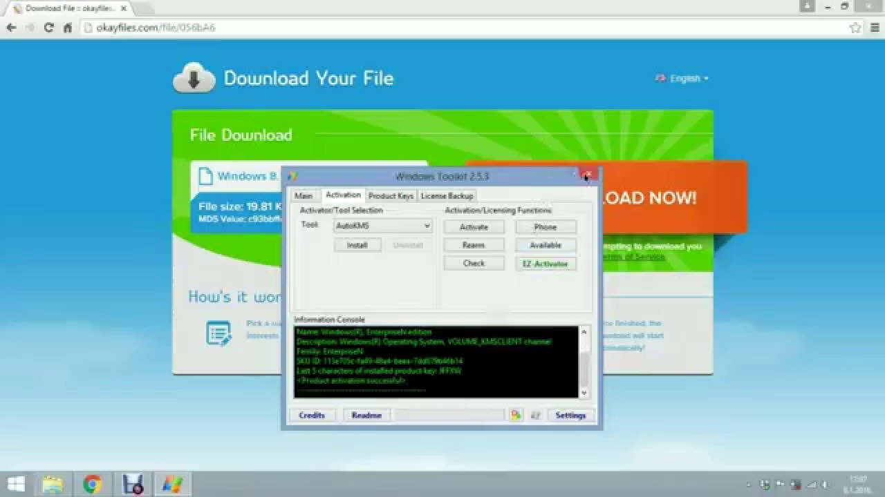 How To Activate Windows 8 1 Free Without Product Key  New