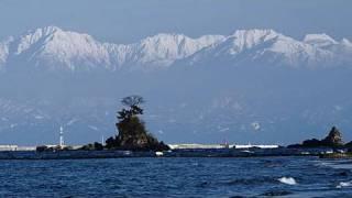 富山湾と立山連峰 North Japan Alps view over Toyama Bay(Shot on RED ONE)