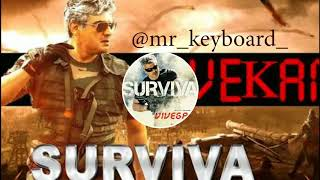 Surviva instrumental cover | Trap mix | Whatsapp status