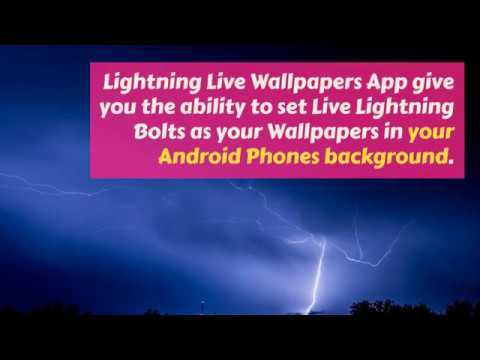 Lightning Live Wallpapers For Android Phones Background